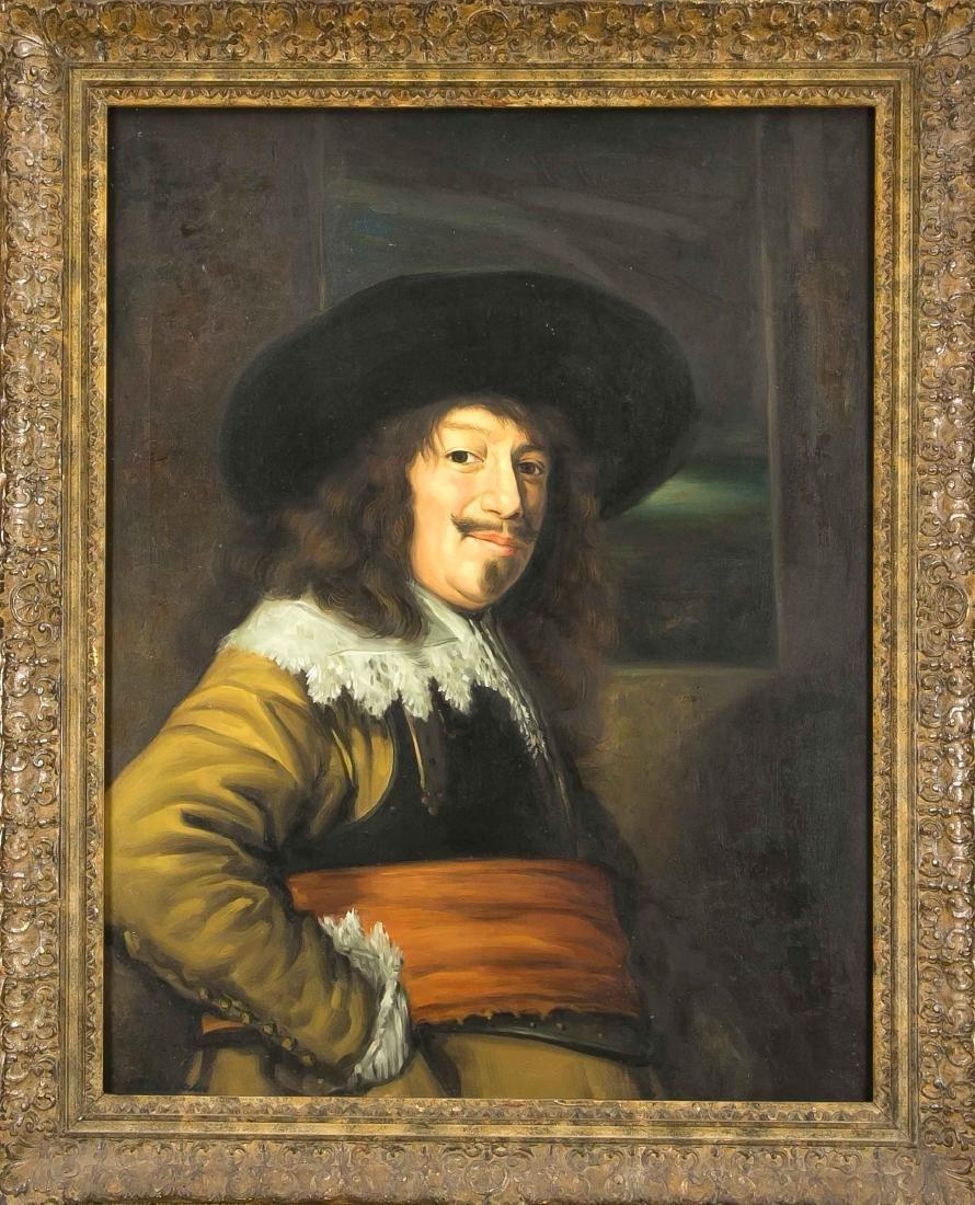 W. Malic, Kopist Ende 20. Jh., Portrait eines Mannes