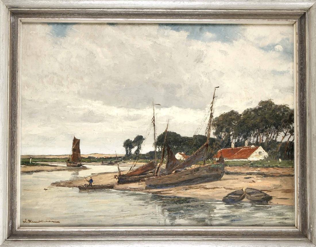 Wilhelm Hambüchen (1869-1939), Düsseldorf landscape