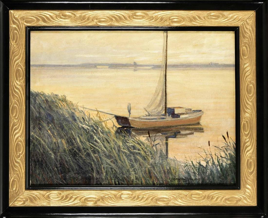 Paul Lehmann-Brauns (1885-1970), small boat on the