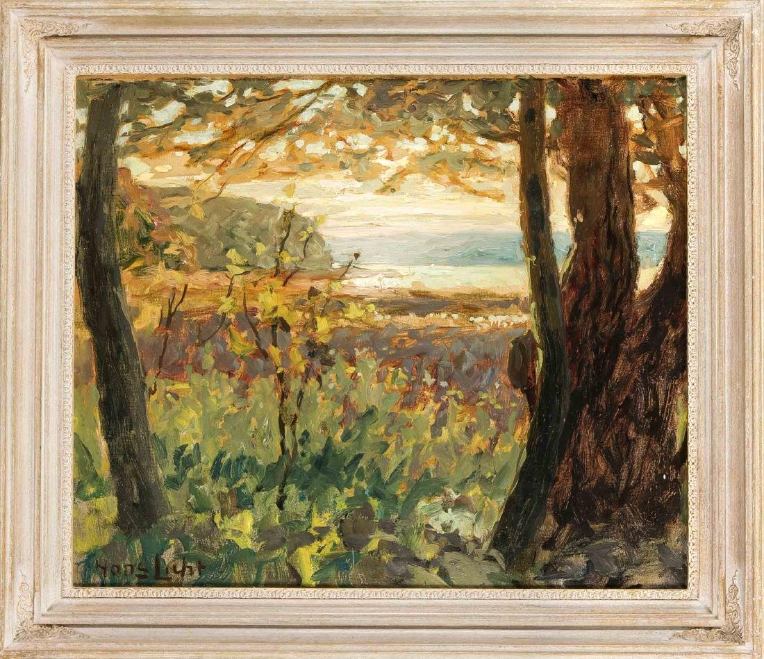 Hans Licht (1876-1935), landscape painter of German