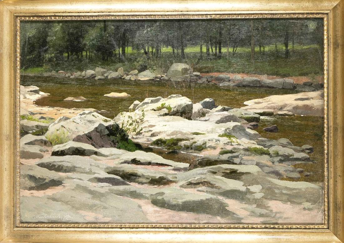 Karl Ludwig Fahrbach (1835-1902), Düsseldorfer Maler,