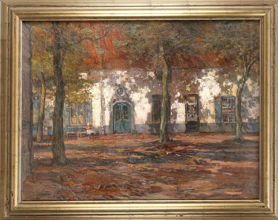 Richard Fehdmer (1860-1945), stud. at the academy in