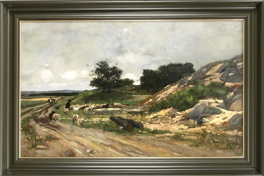 Harald Diecks (1863-1889), stud. in Dresden und dann