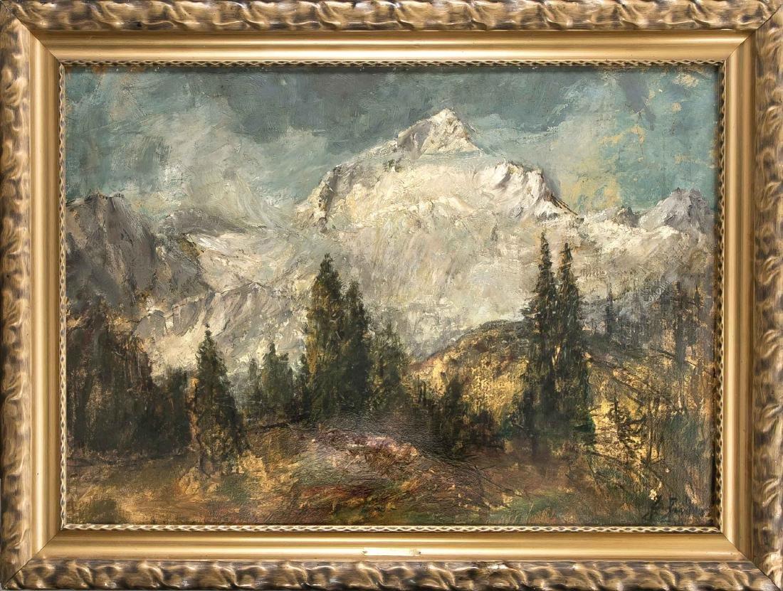 Hans Heider (1861-1947), Münchener Landschaftsmaler,