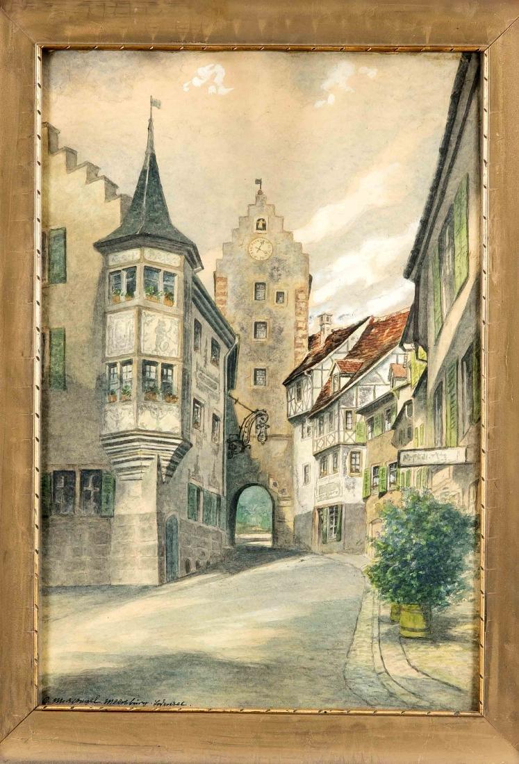 Carl Mispagel (1865-1930), dt. Ansichtenmaler und