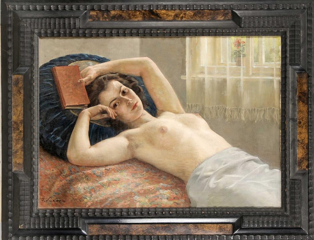 Gustav Sykora (1889-1966), tschechischer Aktmaler,