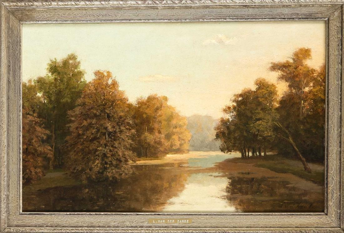 L van der Zande, Dutch painter of the 19th century,