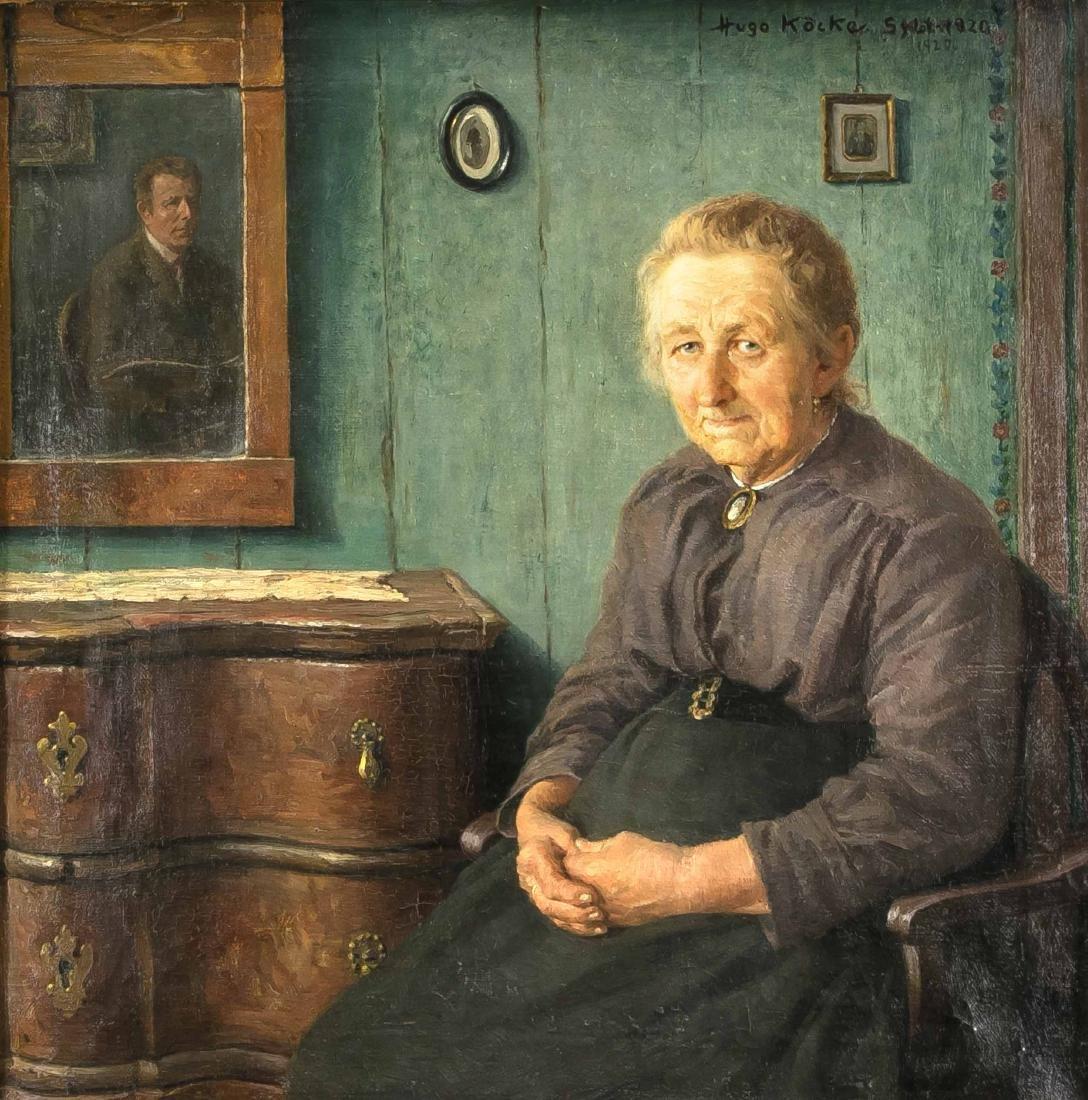 Hugo Köcke (1874-1956), Portrait of the famous Sylt