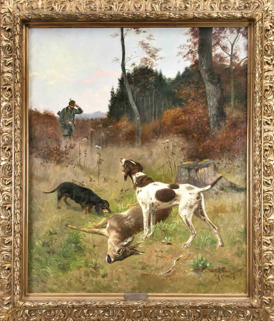 Josef Schmitzberger (1851-1936), animal, hunting and