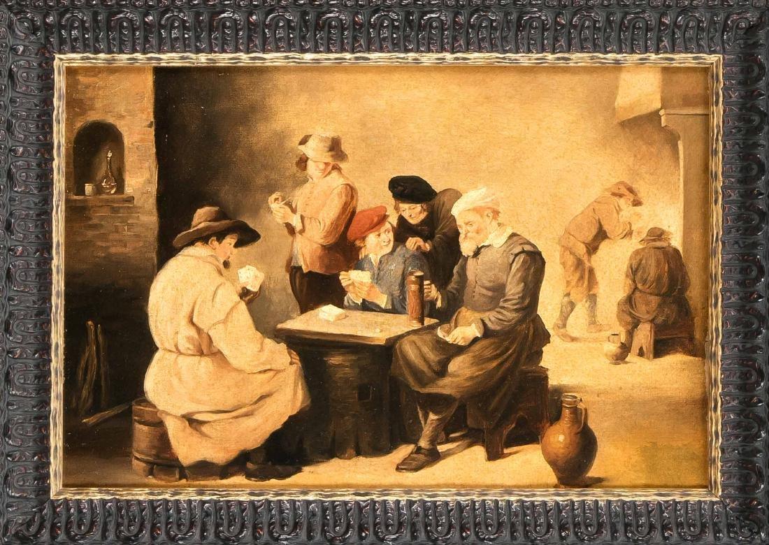 Anonymer Kopist 2. H. 20. Jh., Kartenspieler nach