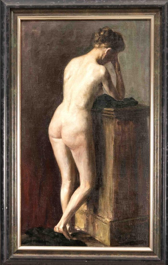 Josef Reusch (1887-1976), German orientalist and nude