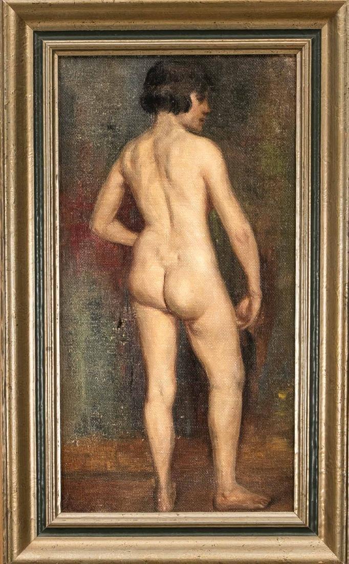 Josef Reusch (1887-1976), German orientalist and nude - 2