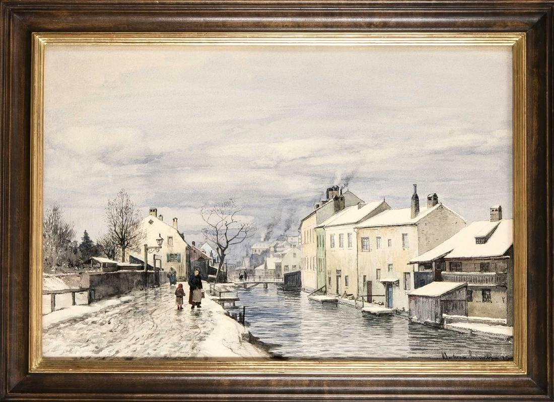 Anders Andersen-Lundby (1840-1923), Danish landscape