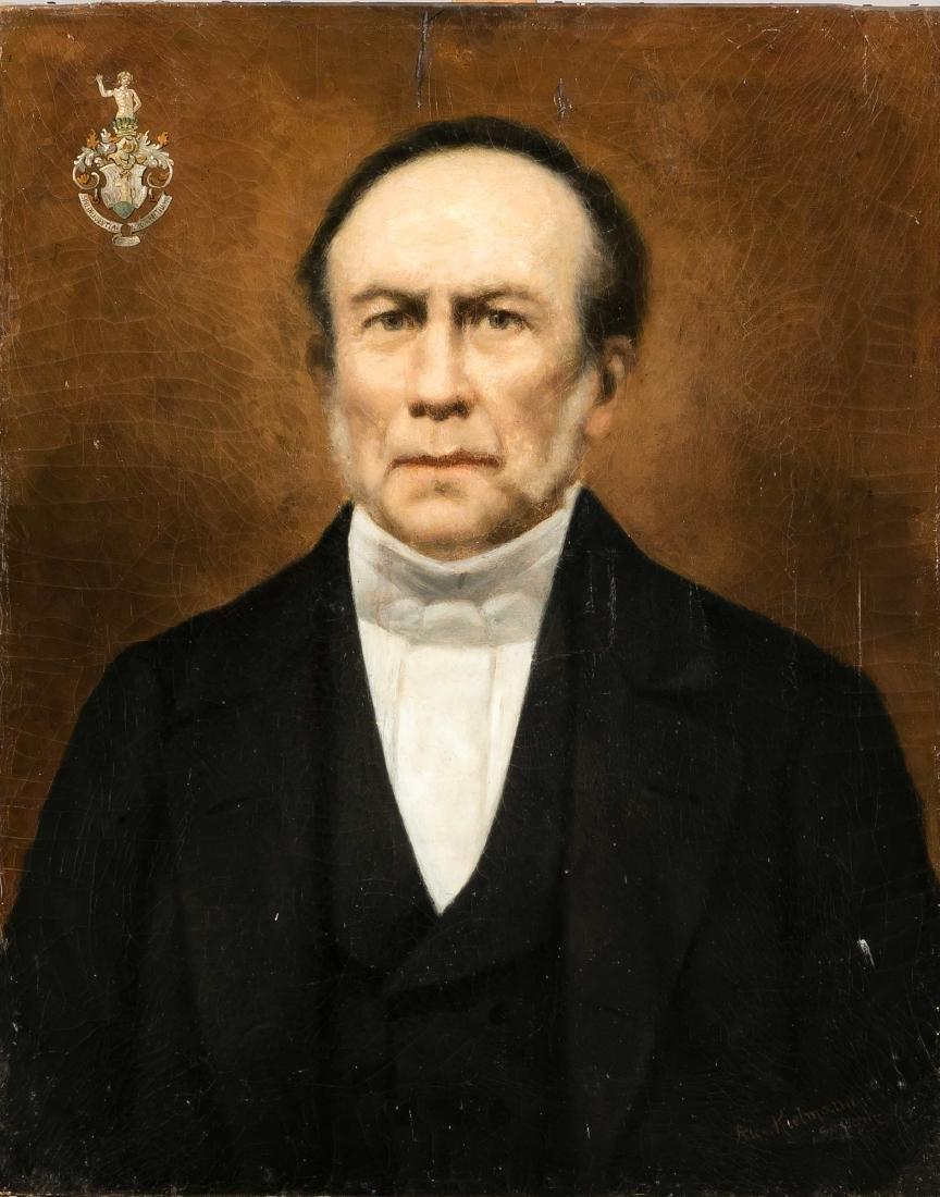 Alex. Kielmann, portrait painter in Schwerin 1st H.