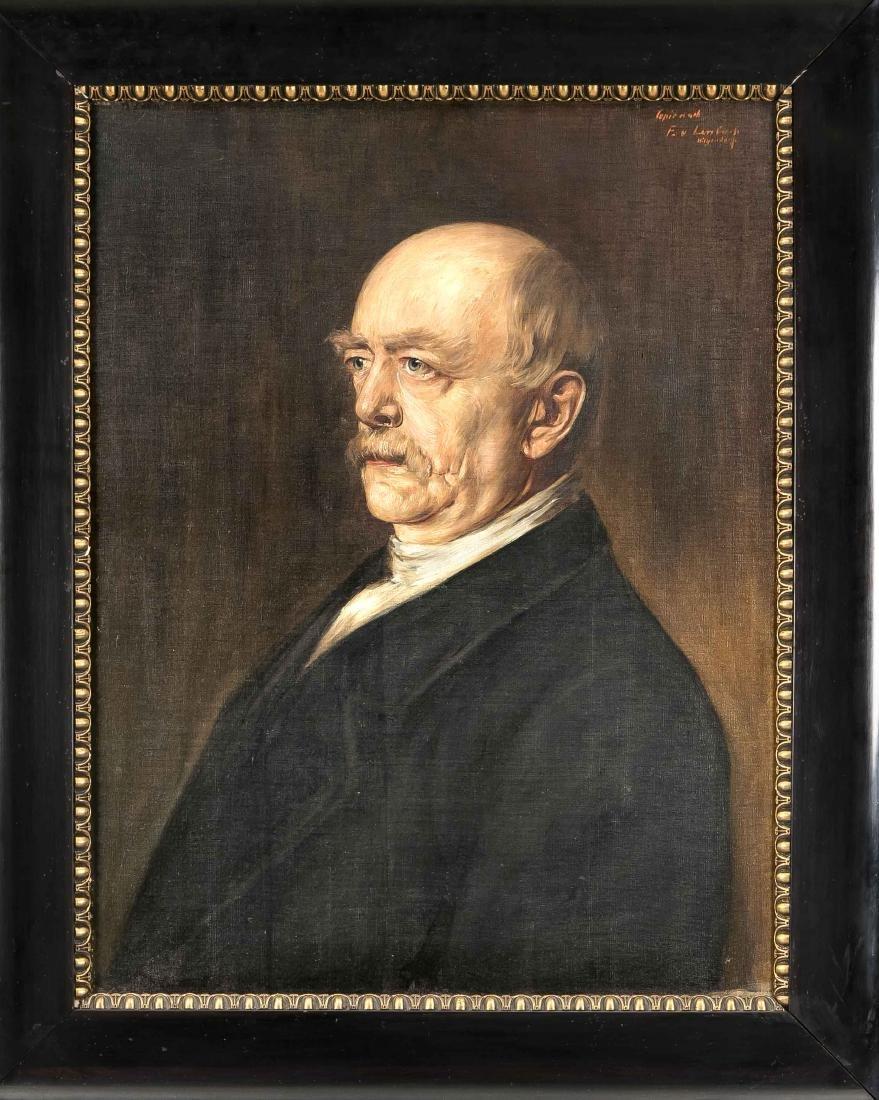 Franz von Lenbach (1836-1904) after, Portrait of