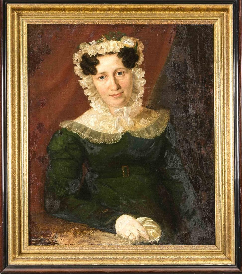 Anonymous portrait painter of the Biedermeier, 1st half