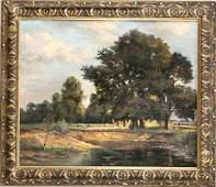Carl Buchka (1868-1931), genre painter in Dachau, stud.