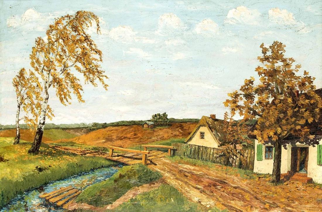 Anonymer Landschaftsmaler 1. H. 20. Jh.,