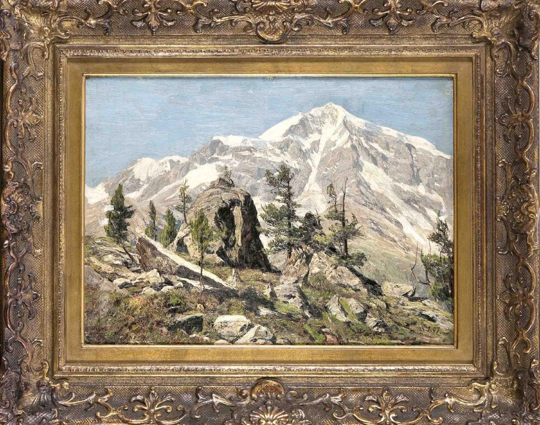 Georg Macco (1863-1933), German landscape painter,