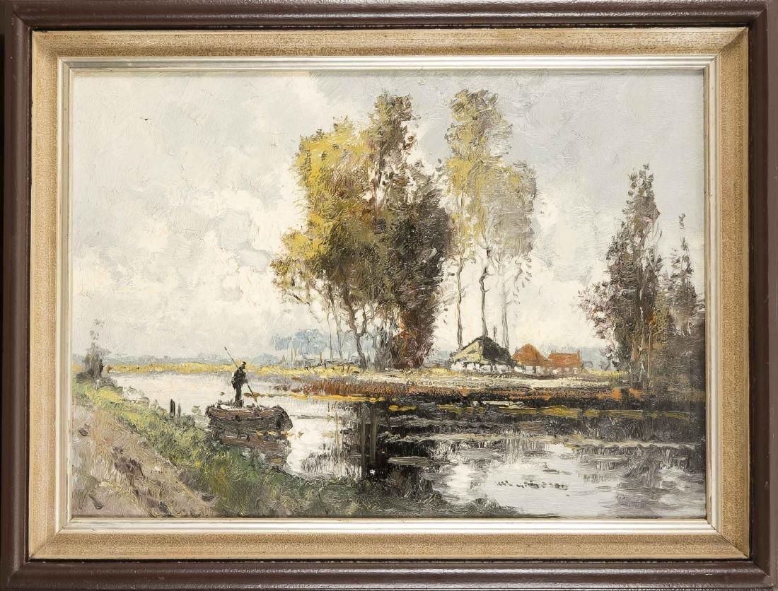 Wim van Norden (1917-2001), Dutch painter, Dutch autumn
