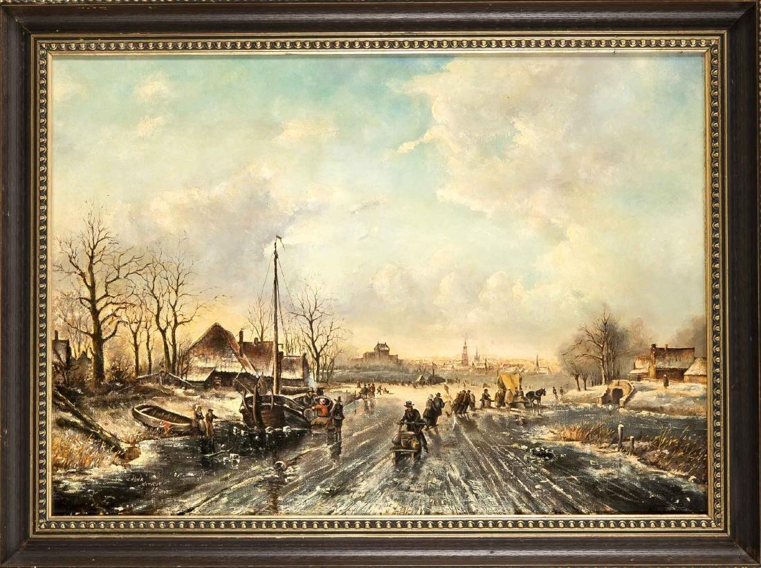 Henk Witvost (o.ä.), holländischer Maler 2. H. 20. Jh.,