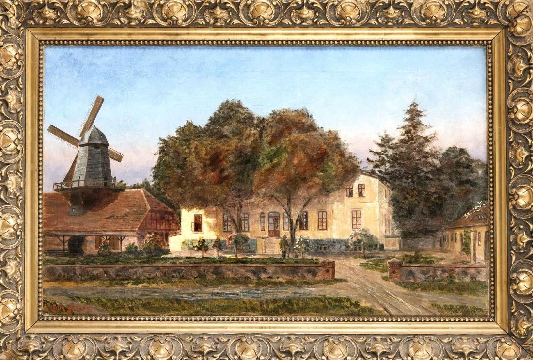 Martin Gscheidel (1857-1945), painter from Königsberg,