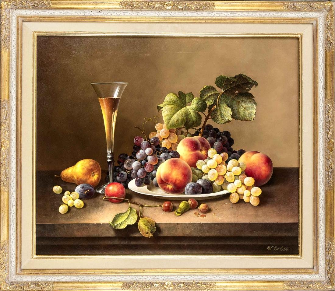 Werner De Caro (* 1945), German still life painter,