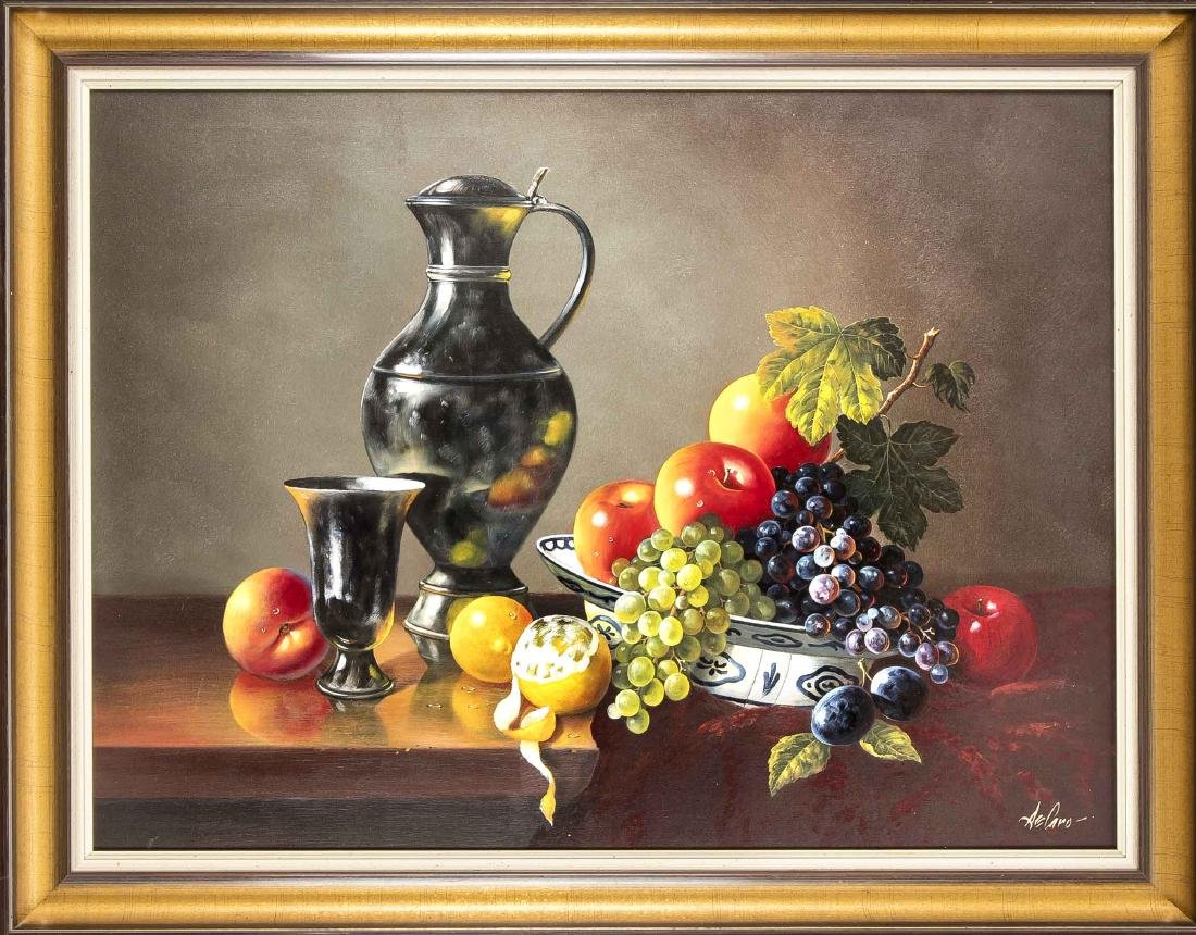 Werner De Caro (*1945), dt. Stilllebenmaler,