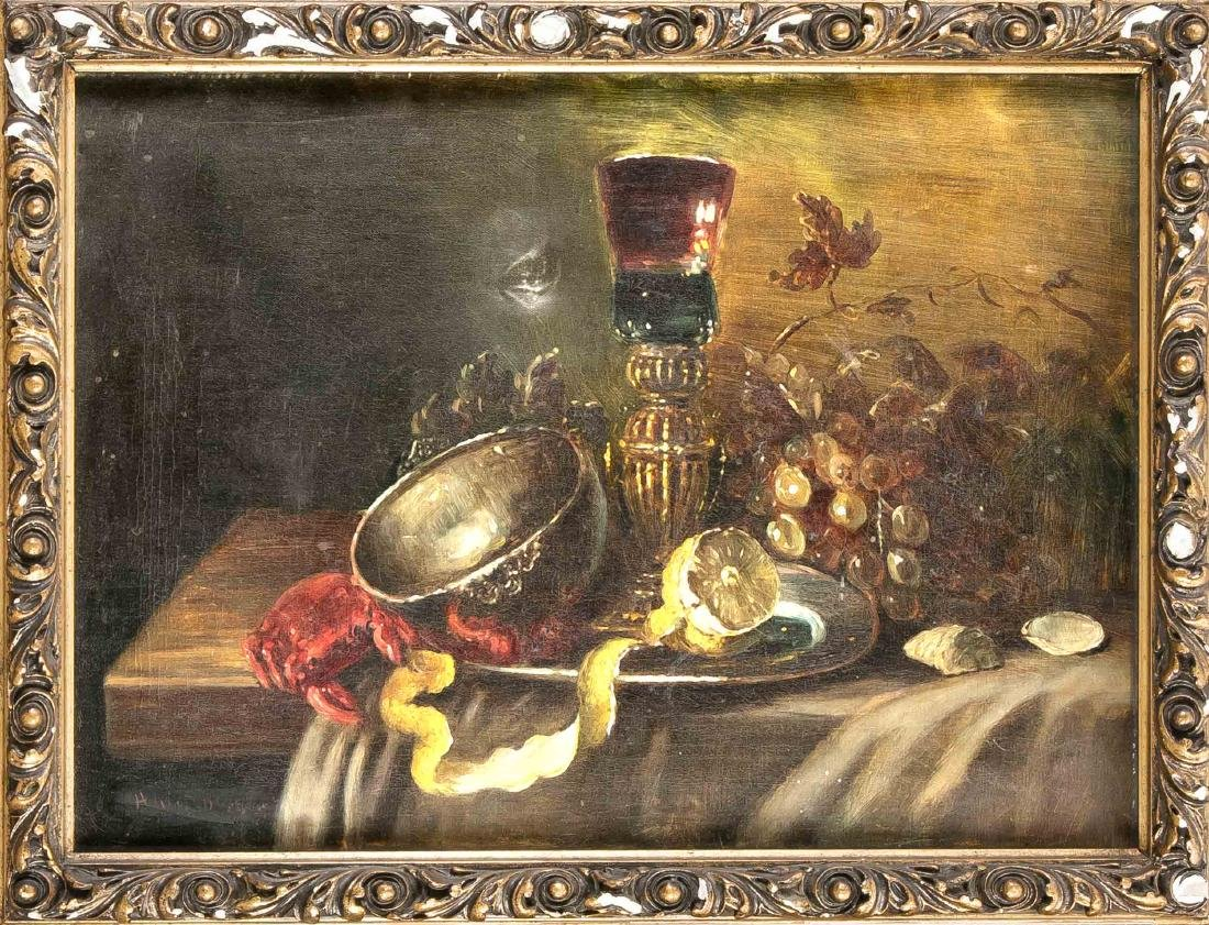 Anonymous copyist around 1930, still life after Willem
