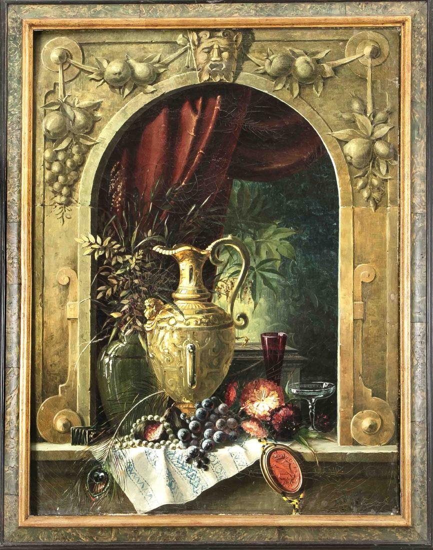 M. R. Wimmer, still life painter at the end of the 19th