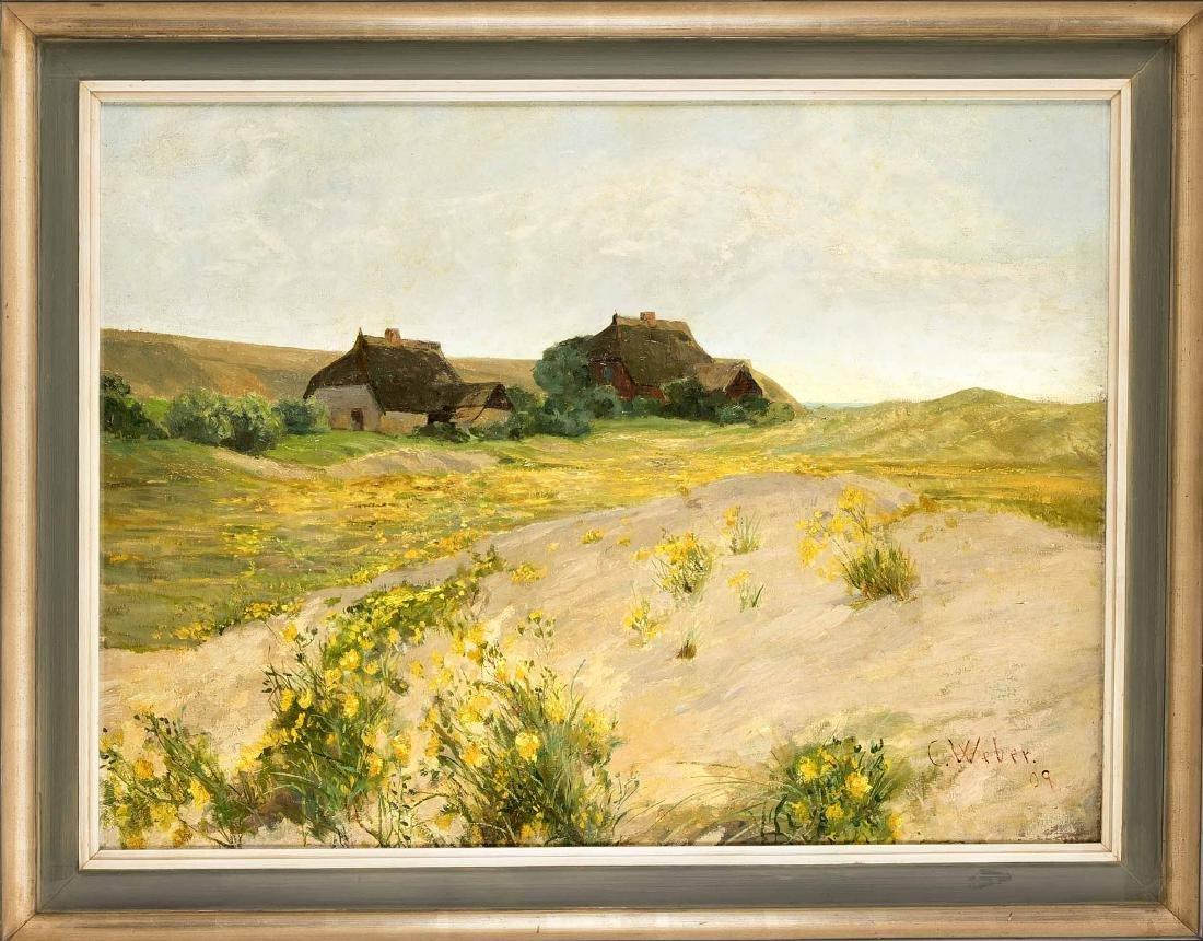 Carl Phillip Weber (1850-1921), German landscape