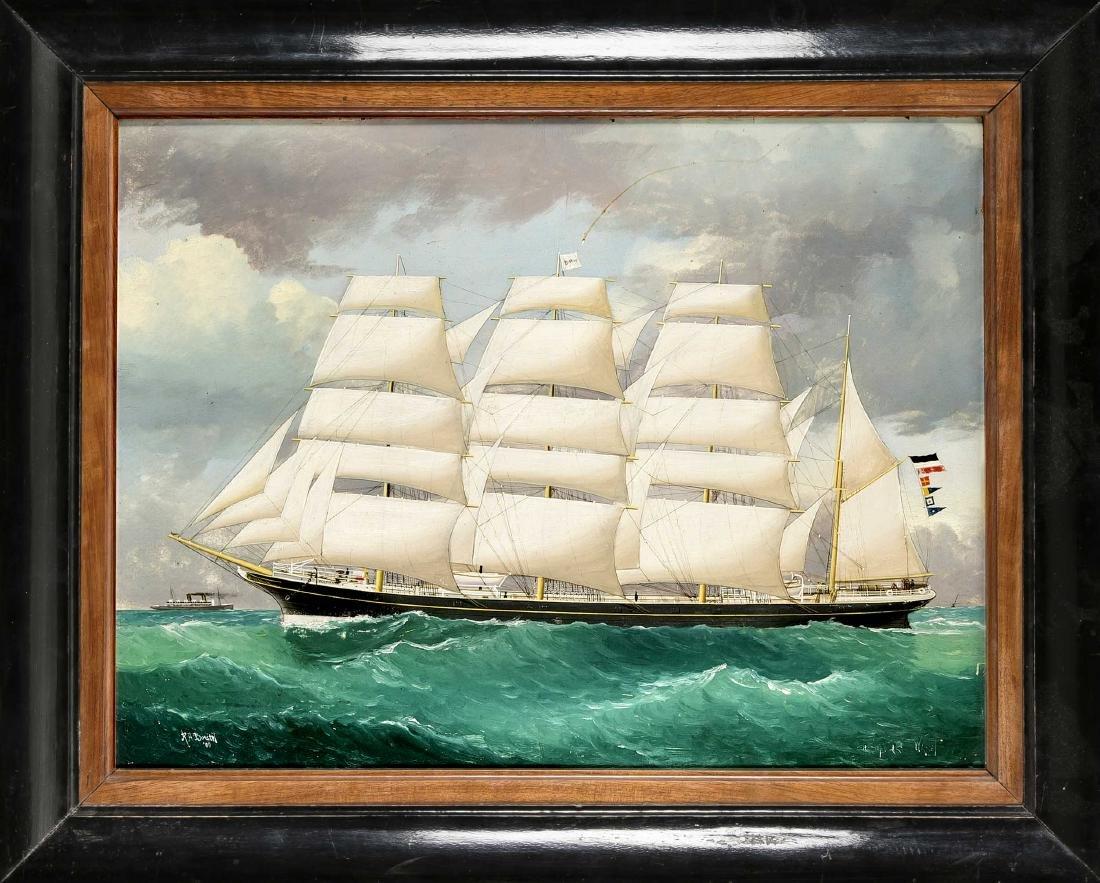 Reginald Arthur Borstel (1875-1922), Australian marine