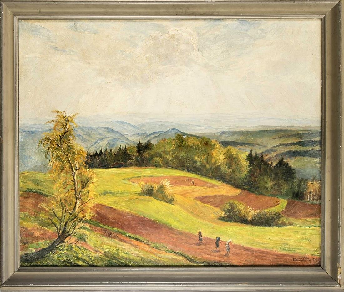 Wilhelm Hempfing (1886-1948), large landscape with