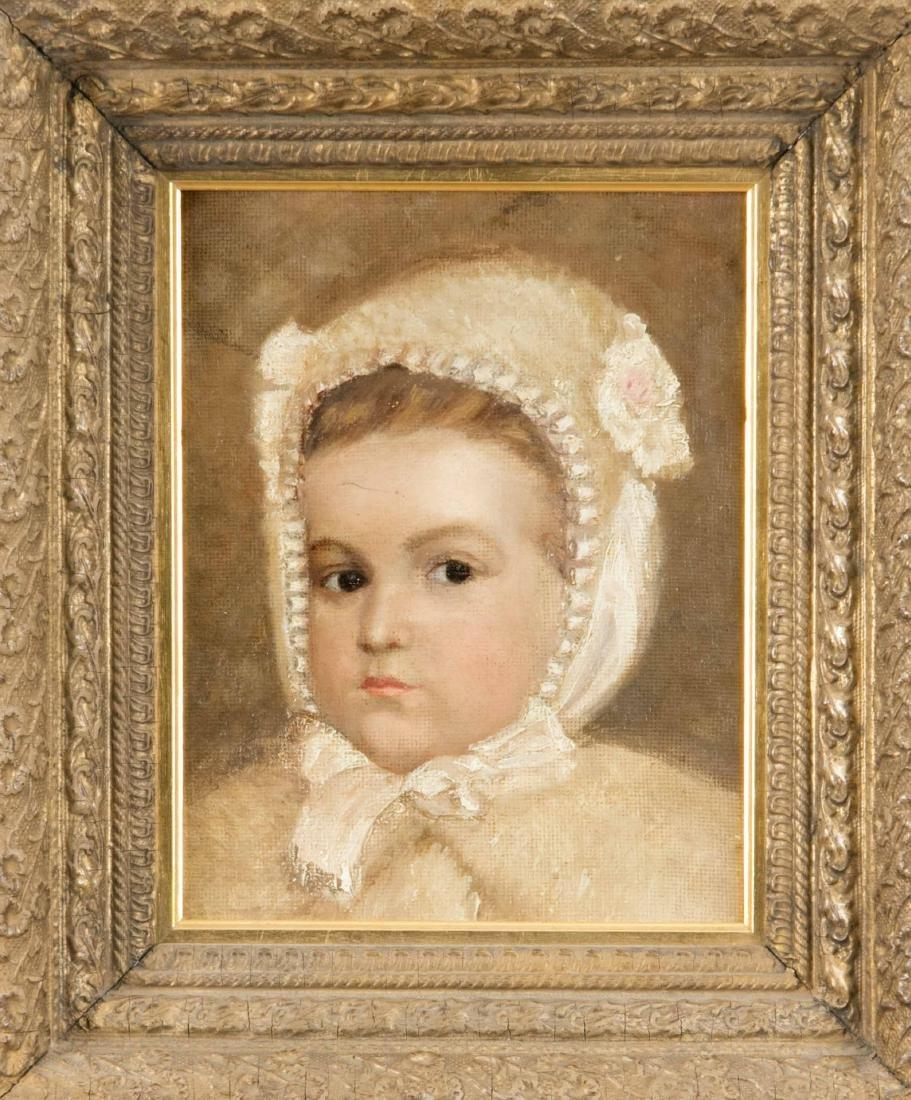 Anonymer Bildnismaler um 1900, Portrait eines jungen