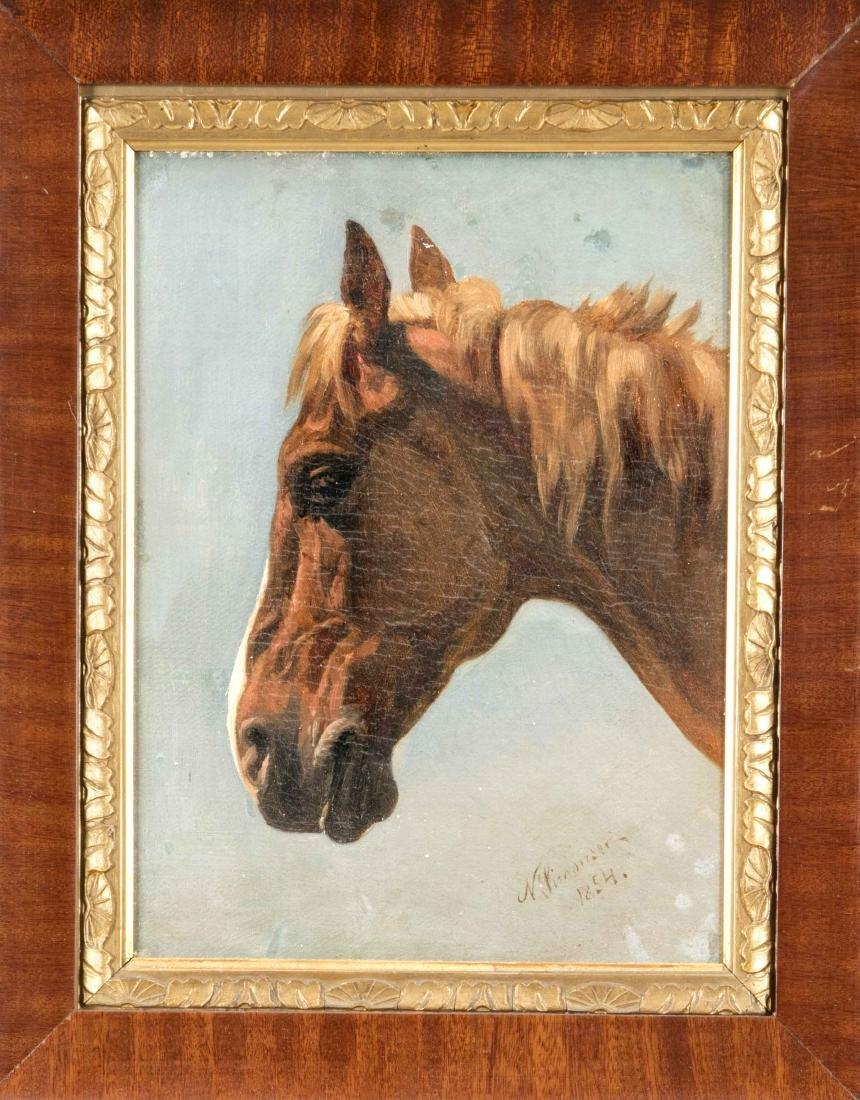Niels Simonsen (1807-1885), painter from Copenhagen,