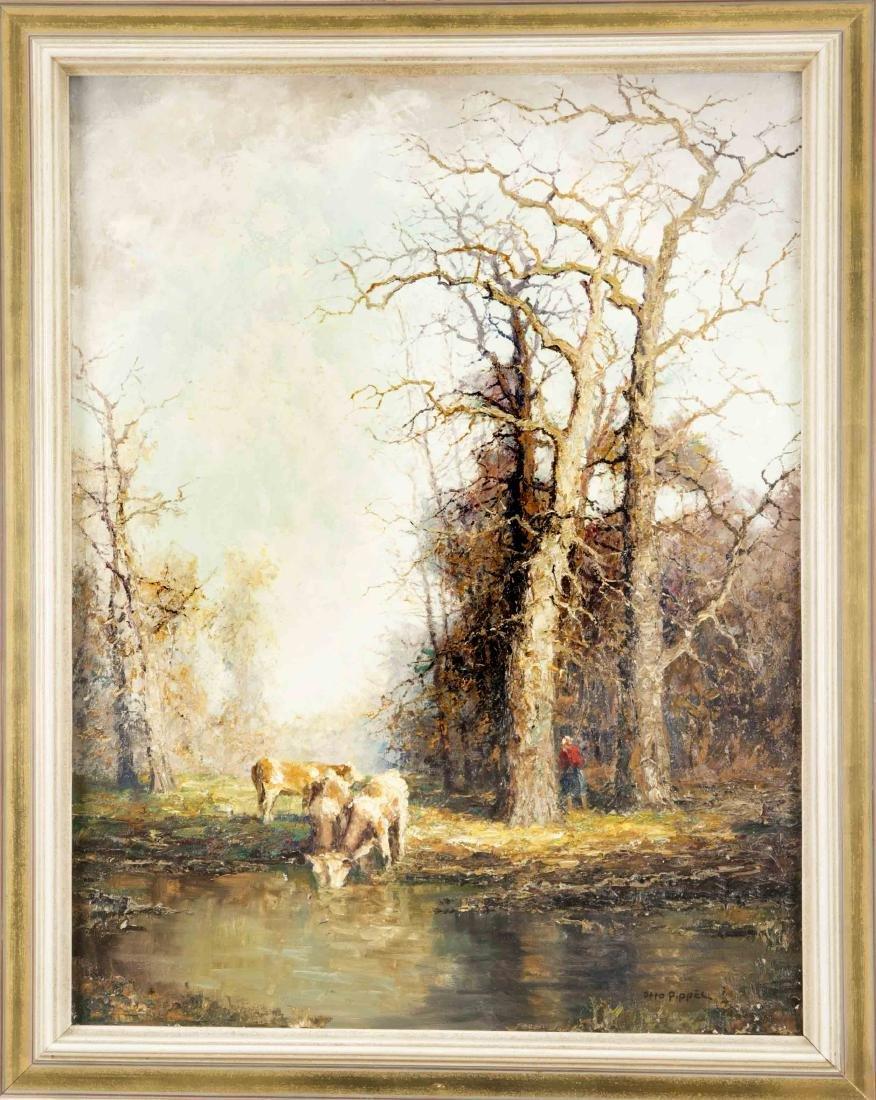 "Otto Pippel (1878-1960), ""Herbst"", Öl/Lw., signiert u."