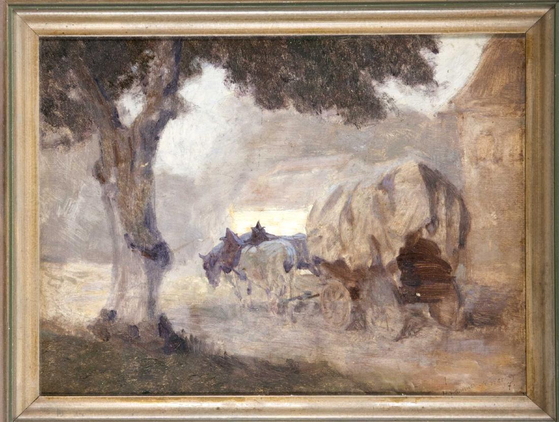 Hans Hammer (1878-1917), Nuremberg painter, landscape
