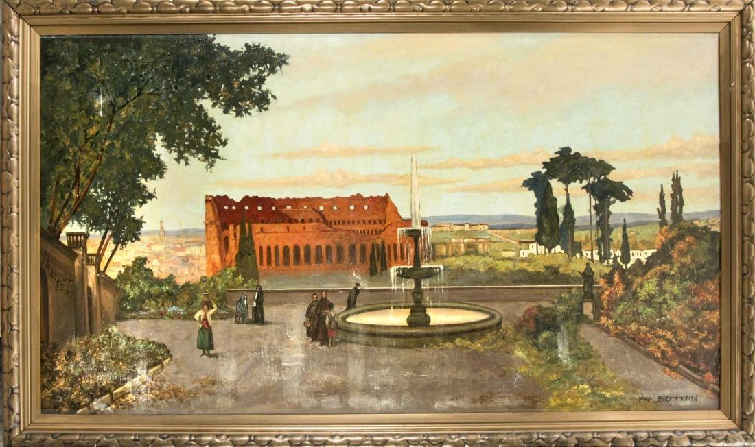 Paul A. Buchhorn to Hofen (1890-1938), large, Roman