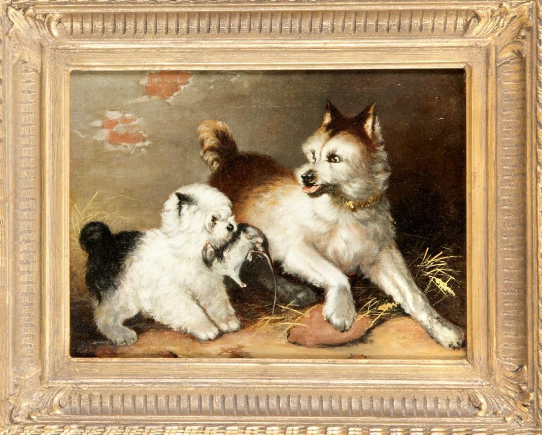 Seybecke, animal painter of the 19th century, two
