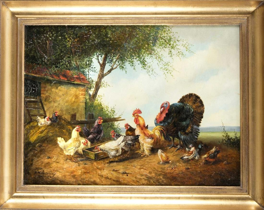 Bogdan Kaudetsky (1898-1964), Münchner Tiermaler, zwei