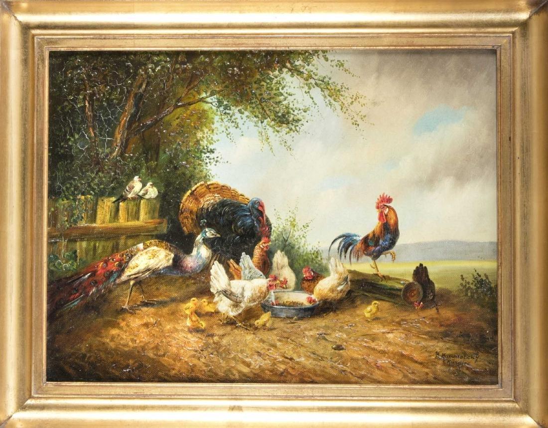Bogdan Kaudetsky (1898-1964), Münchner Tiermaler, zwei - 2