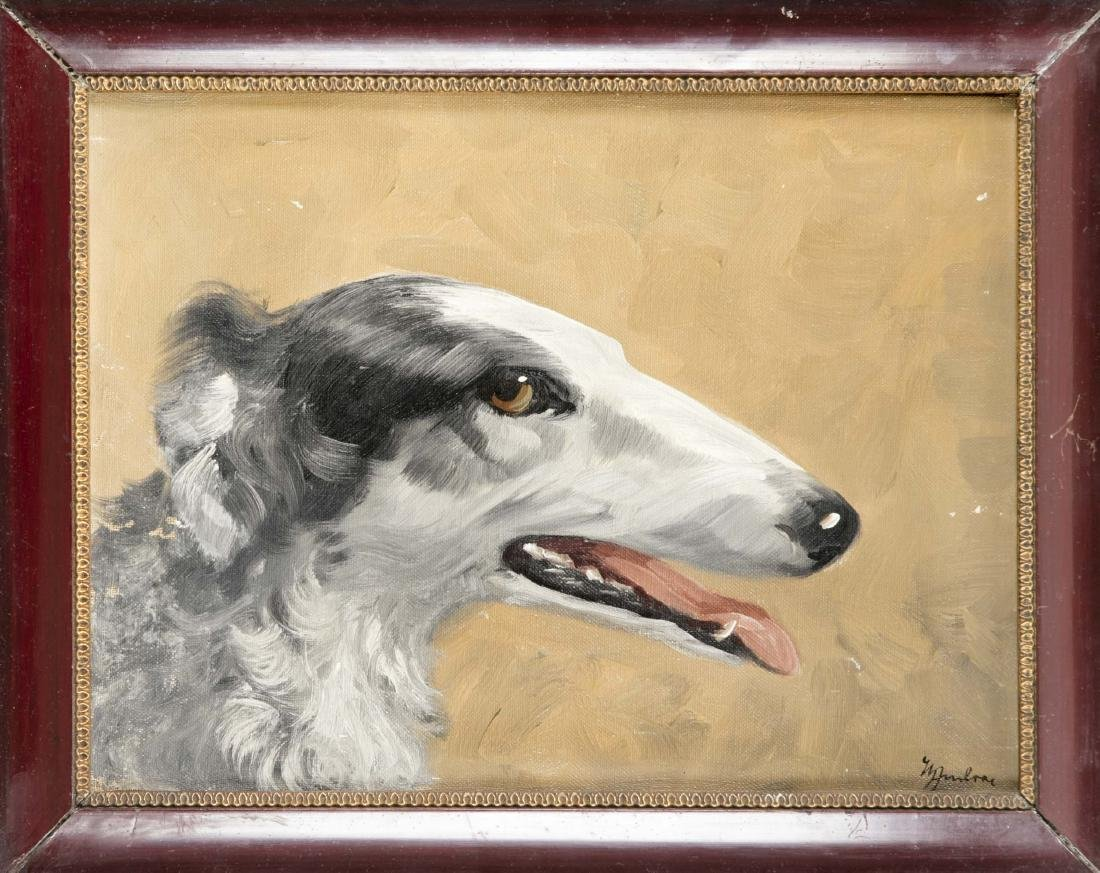 W. Ambrac, 1st half of the 20th century, Portrait of a