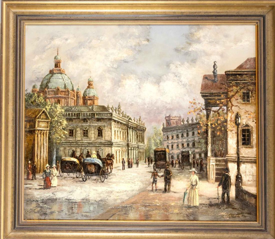 Johann Melmann, Berliner Ansichtenmaler des 20. Jh.,