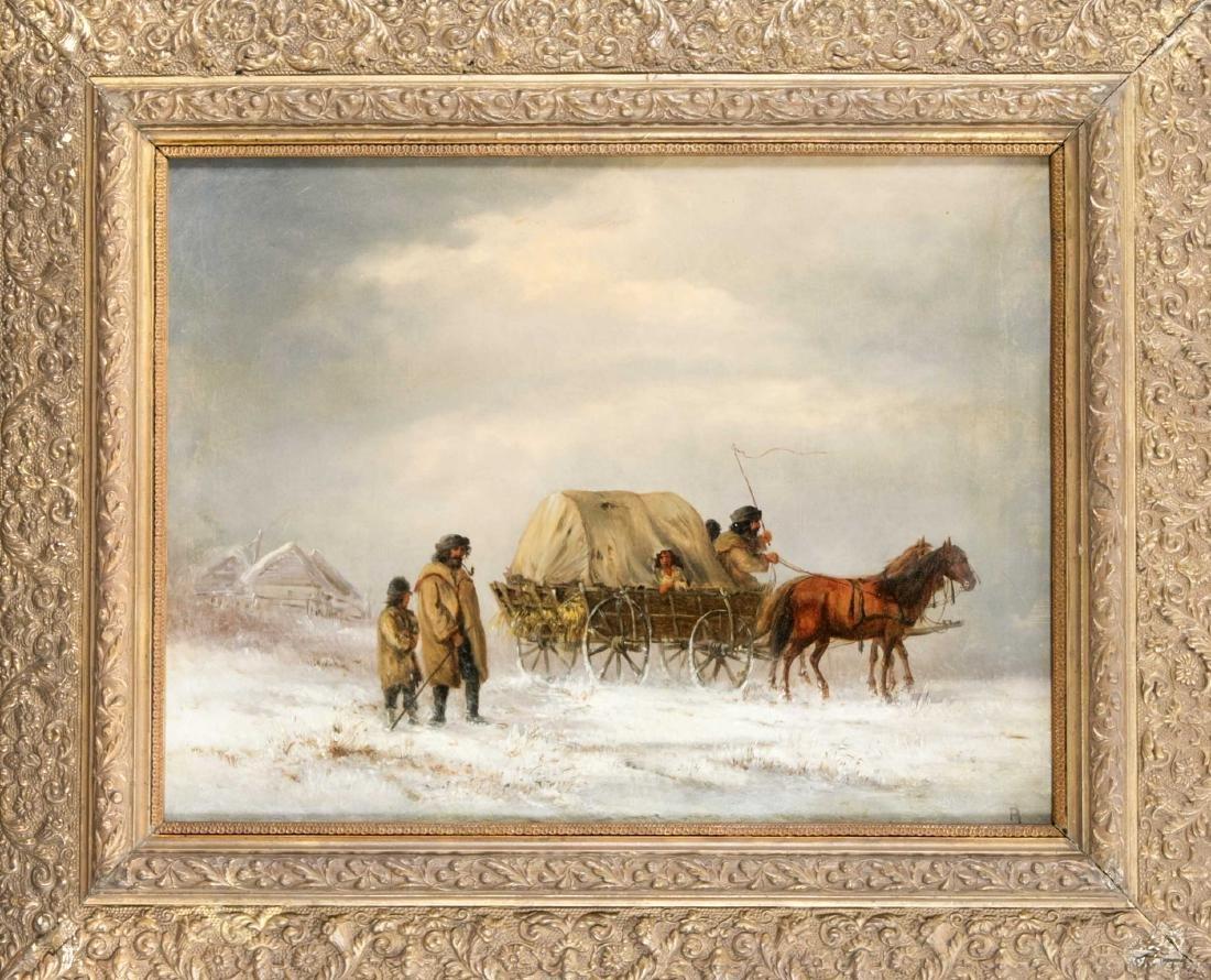 """Monogrammist """"R"""", wohl polnischer Maler des 19. Jh.,"""