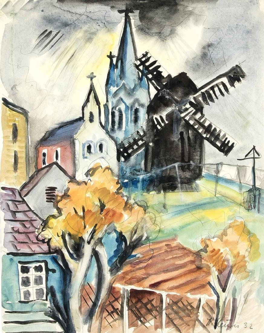 Heinrich Heuser (1887-1967), born in Stralsund painter,