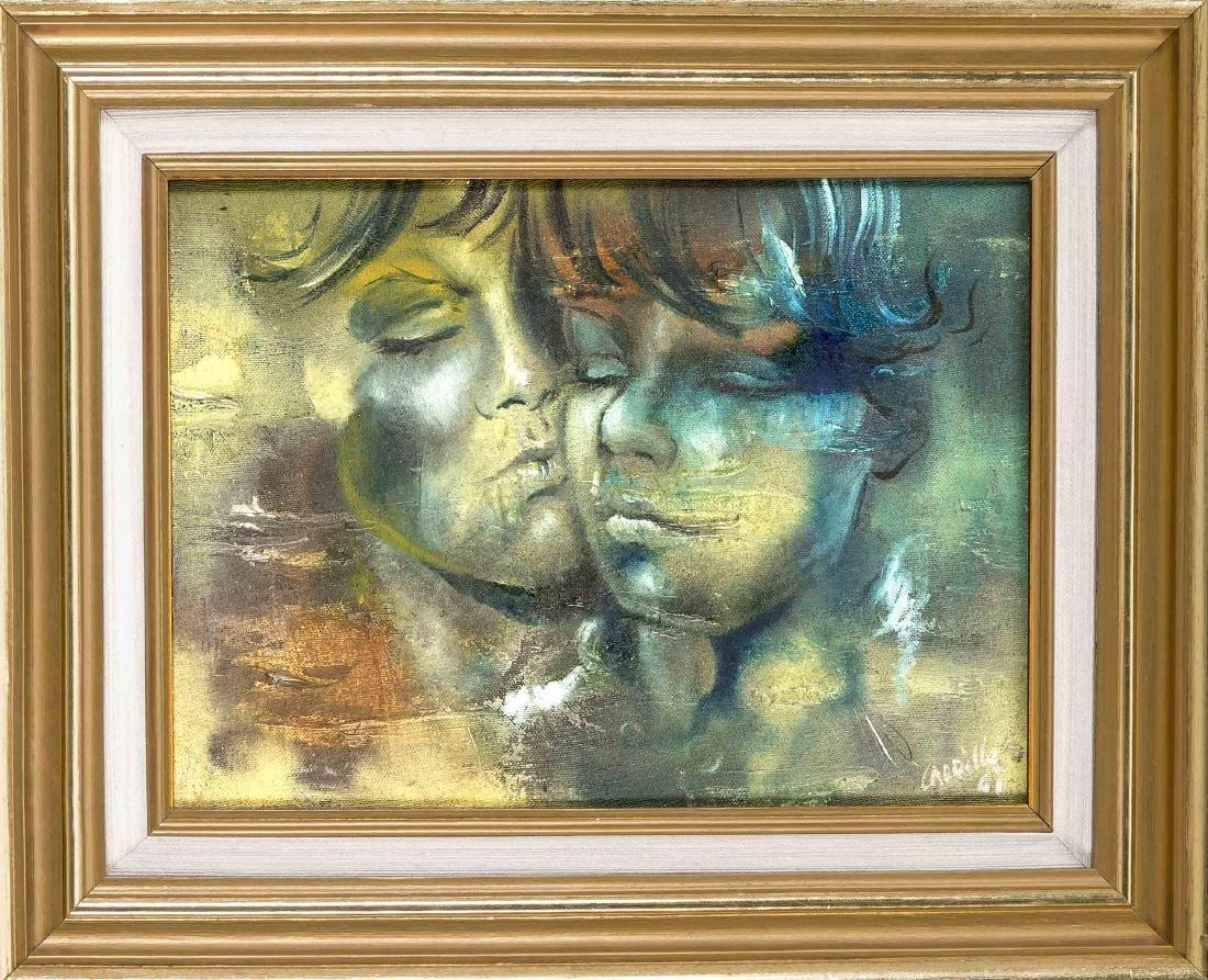 Antonio Carrillo, contemporary painter from Nicaragua,