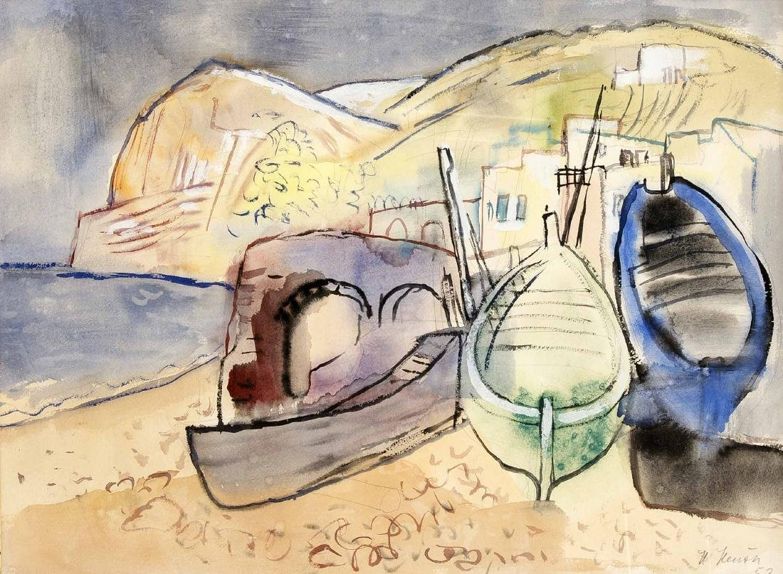 Heinrich Heuser (1887-1967), born in Stralsund painter,