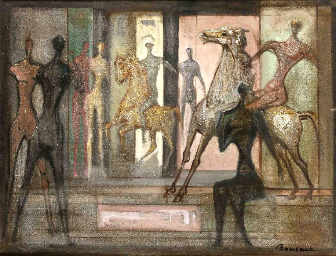 Horst Robert Bonsack (1903-1987), German artist,
