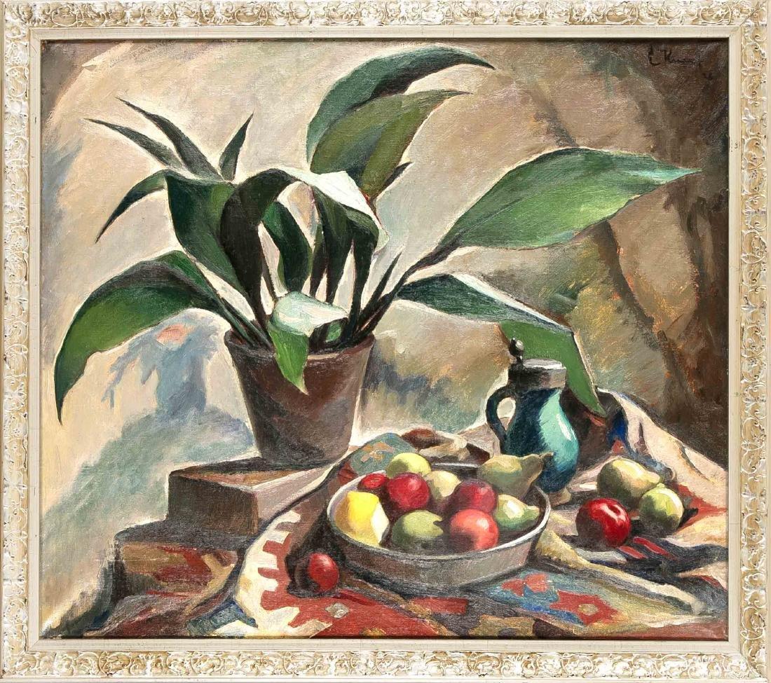 Ernst Friedrich Knauf (1879-1944), großes Stillleben