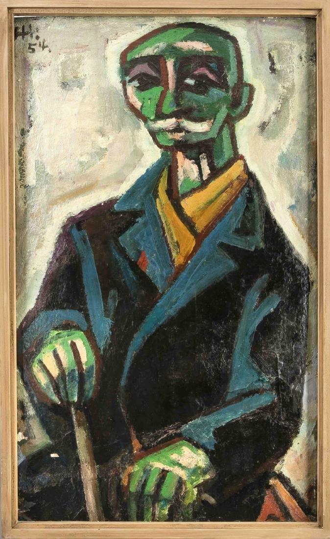 Herbert Helmert (1924-1997), German Expressionist from